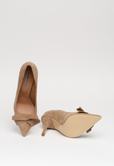 Mihaela Glavan Pantofi din piele intoarsa Femei