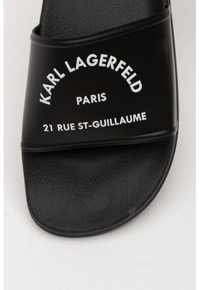 Karl Lagerfeld Papuci cu logo Barbati