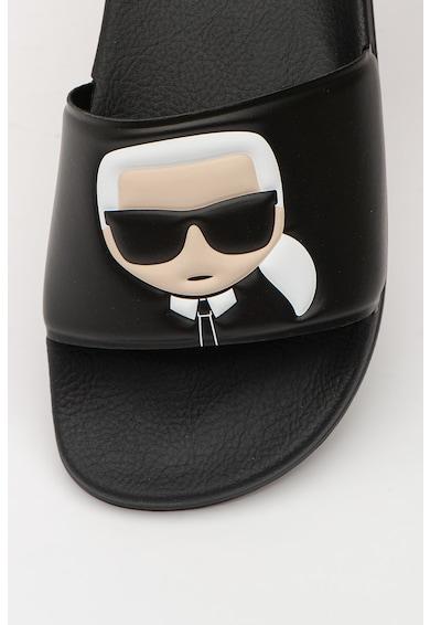 Karl Lagerfeld Papuci cu logo Kondo II Femei