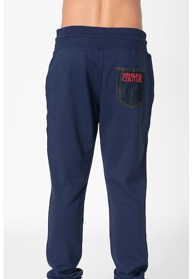 Versace Jeans Couture Pantaloni sport cu broderie text Barbati