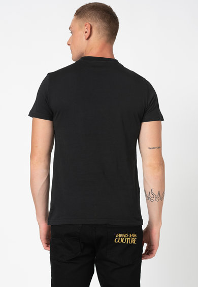 Versace Jeans Couture Szűk fazonú póló logós foltrátéttel férfi