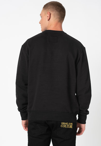 Versace Jeans Couture Bluza sport cu maneci cazute Barbati