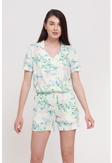 Sofiaman Pijama cu imprimeu floral Femei