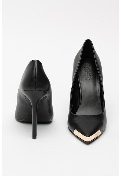 Versace Jeans Couture Christy hegyes orrú bőrcipő női