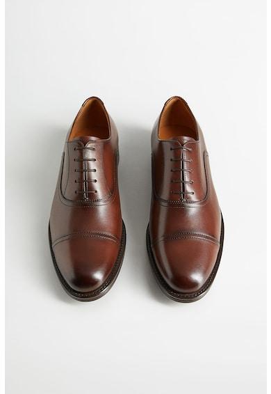 Mango Pantofi din piele cu aplicatie cap-toe Madrid Barbati