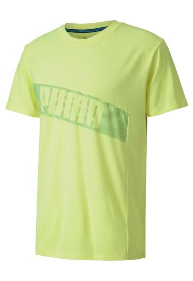 Puma Tricou cu imprimeu logo, pentru antrenament Barbati