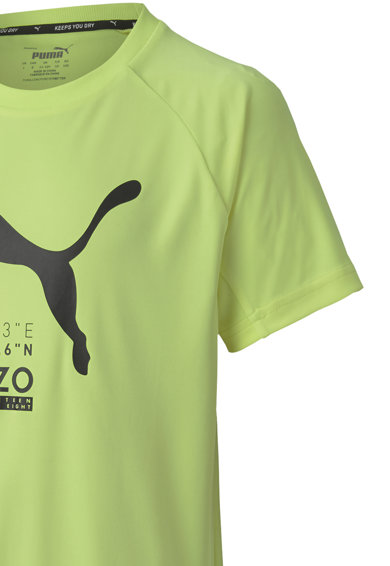 Puma Tricou cu logo Active Sports Baieti