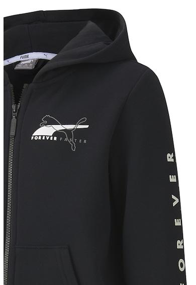 Puma Hanorac cu fermoar si imprimeu logo Alpha Baieti