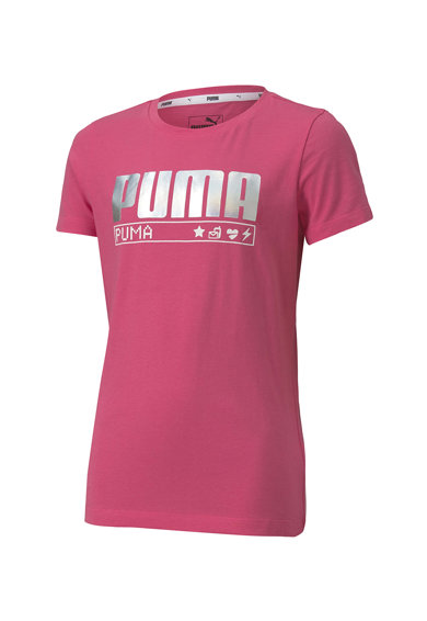 Puma Tricou cu logo cu irizatii Alpha Fete