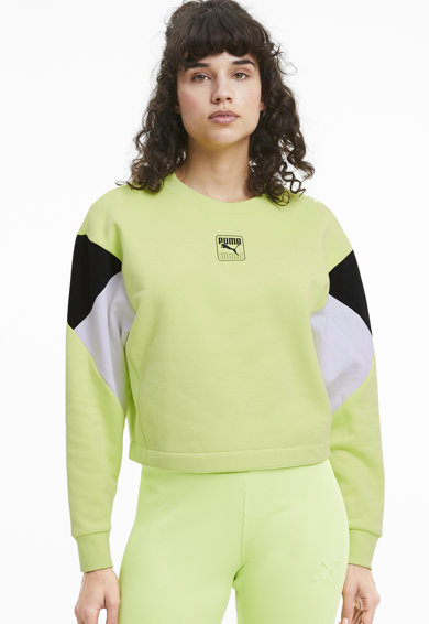 Puma Bluza sport cu decolteu la baza gatului Rebel Femei