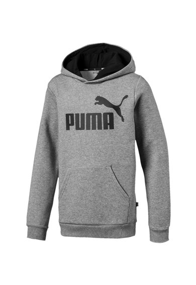Puma Logómintás kapucnis felső kenguruzsebbel Fiú