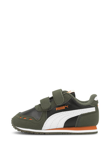 Puma Pantofi sport cu inchidere velcro Cabana Racer SL Fete