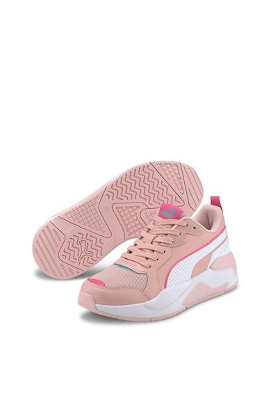Puma Pantofi sport unisex cu insertii de piele ecologica X-Ray Game Femei