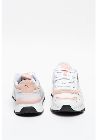 Puma Pantofi sport unisex cu insertii de piele intoarsa RS 2.0 Futura Femei