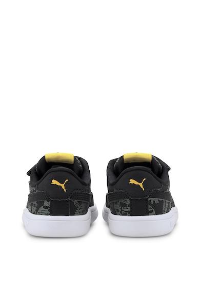 Puma Smash v2 tépőzáras műbőr sneaker Lány