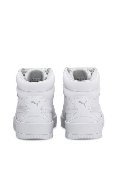 Puma Pantofi sport mid-high de piele ecologica, cu amortizare Carina Fete