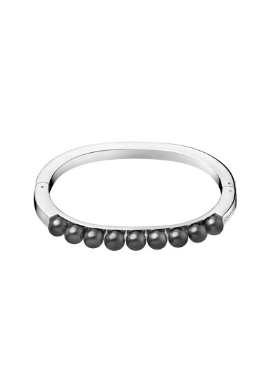 CALVIN KLEIN Bratara rigida circulara cu perle Femei