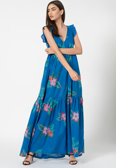 Pepe Jeans London Rochie cu model floral Manuela Femei