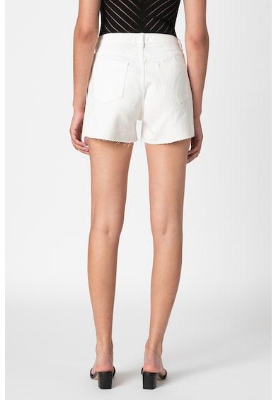 Missguided Pantaloni scurti din denim cu terminatie nefinisata Femei