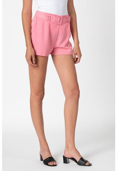 Missguided Pantaloni cu talie inalta cu o curea Femei