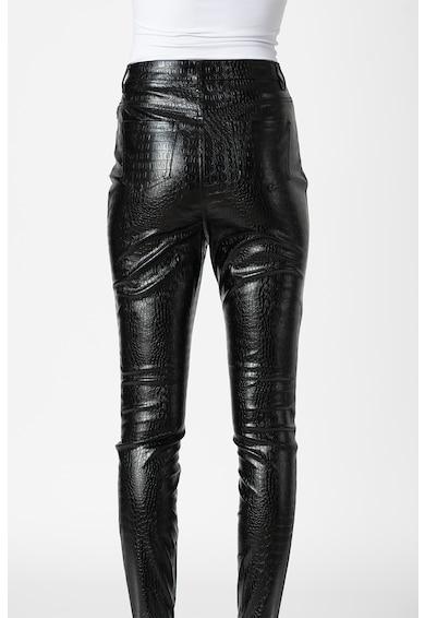 Missguided Magas derekú műbőr nadrág női