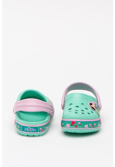 Crocs Sarokpántos papucs Mulanos mintával Lány