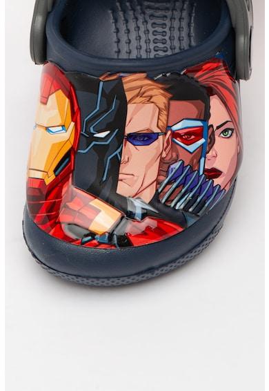Crocs Saboti slingback cu imprimeu Marvel Fete