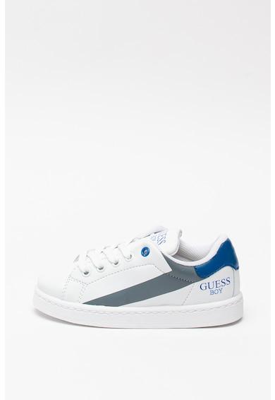 Guess Műbőr sneaker kontrasztos részletekkel Fiú