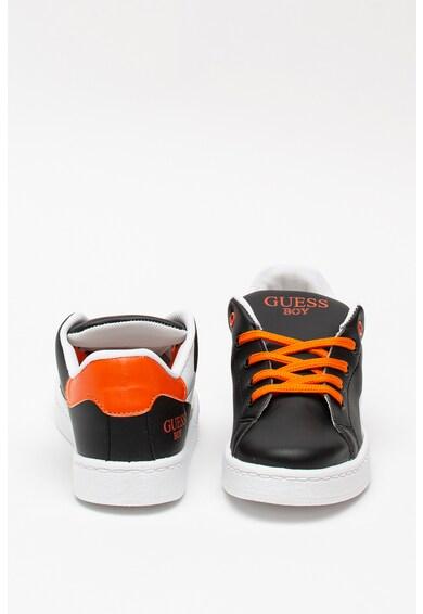 Guess Pantofi sport de piele ecologica, cu model colorblock Fete