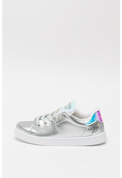 Guess Lucele műbőr sneaker színjátszós részletekkel Lány