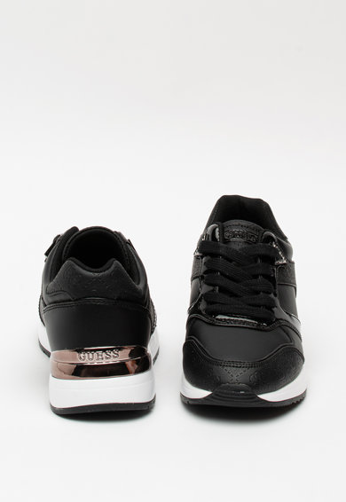 Guess Műbőr sneaker monogramos mintával női
