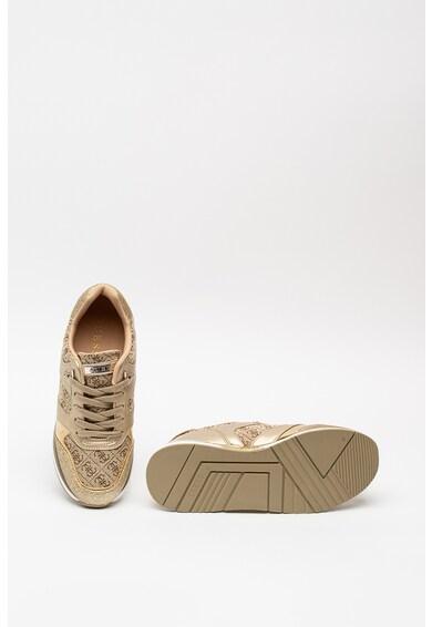 Guess Csillámos sneaker monogramos mintával női