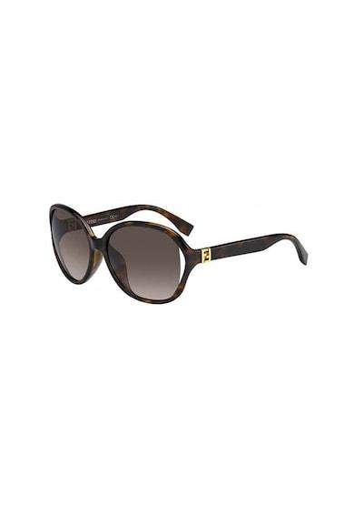 Fendi Ovális napszemüveg színátmenetes lencsékkel női
