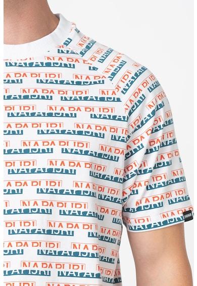 Napapijri Tricou cu imprimeu logo Barbati