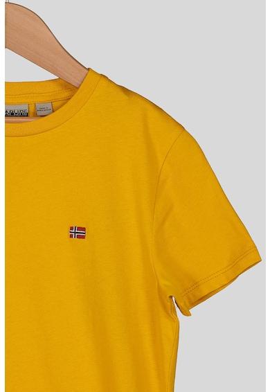 Napapijri Kerek nyakú póló logós részlettel Lány