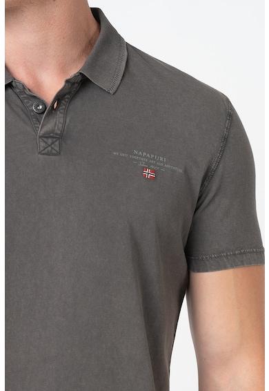 Napapijri Elli galléros póló logós részlettel férfi