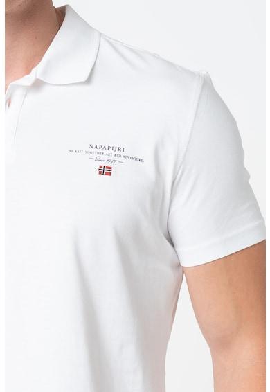Napapijri Tricou polo cu logo discret Elli Barbati
