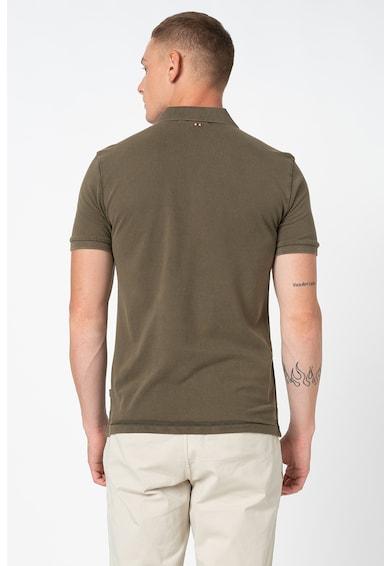 Napapijri Elbas galléros póló logóhímzéssel férfi