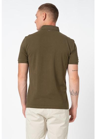 Napapijri Eolanos galléros póló bordázott részletekkel férfi