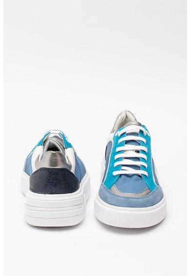 Geox Ottaya sneaker nyersbőr részletekkel női