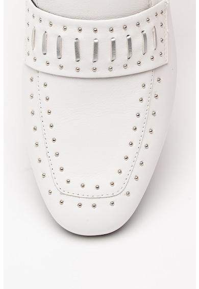 Geox Marlyna bőrcipő szegecses rátétekkel női