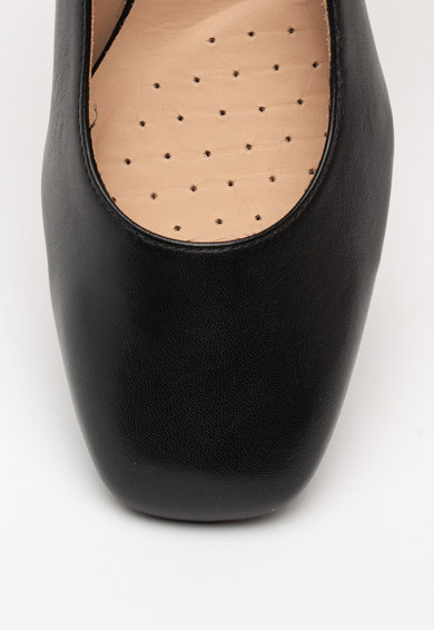 Geox Seyla bőrcipő vastag sarokkal női