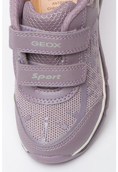 Geox Android műbőr és hálós anyagú sneaker Lány