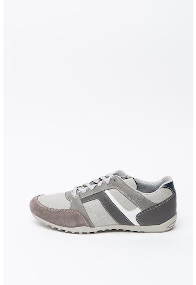 Geox Garlan műbőr és textil sneaker férfi