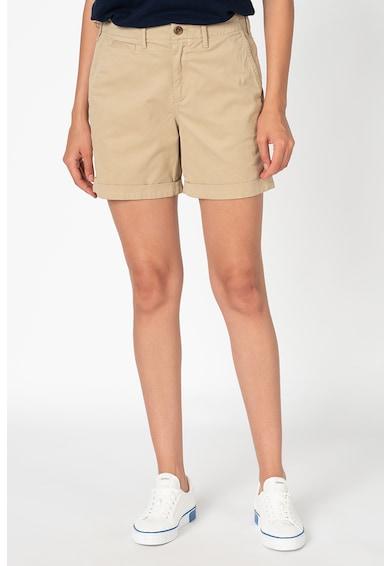 GAP Pantaloni scurti chino cu talie inalta Femei