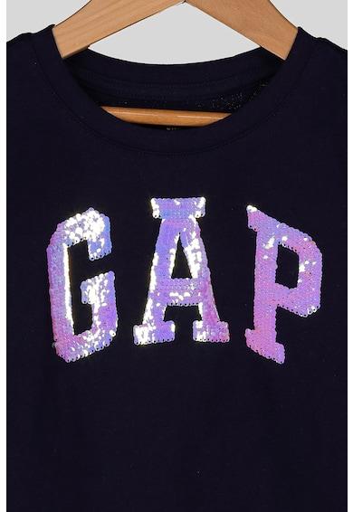 GAP Póló kétoldalú flitterekkel Lány