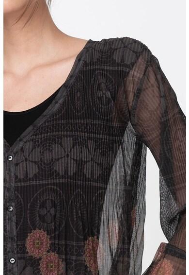 DESIGUAL Bluza vaporoasa cu imprimeuri variate Femei