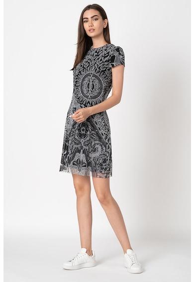 DESIGUAL Къса рокля с щампа Жени