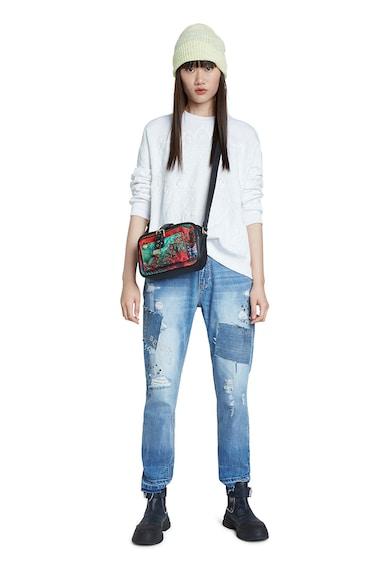 DESIGUAL Bluza cu mandale in relief Femei