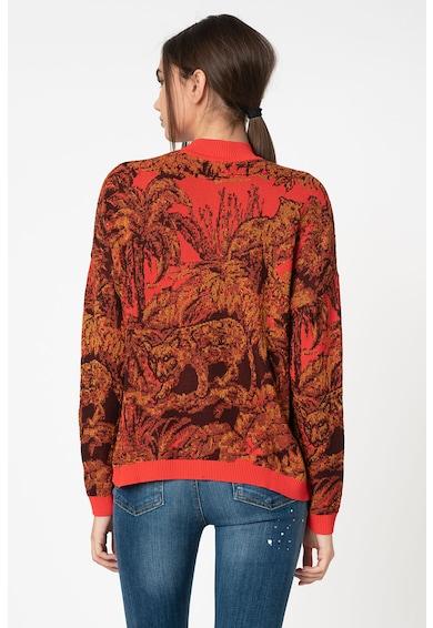 DESIGUAL Pulover tricotat fin cu model grafic Femei